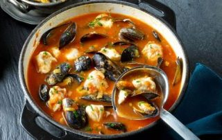Mussel, Hake and Tomato Soup